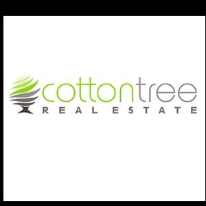 Logo - Cotton Tree Real Estate